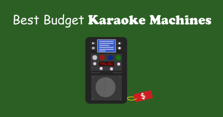 best cheap karaoke machines