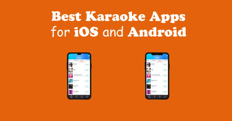 Best Karaoke Apps for iOS and Android   SofaEmpire